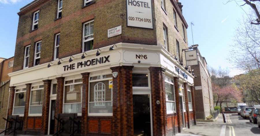Make cheap reservations at a hotel like Phoenix Hostel