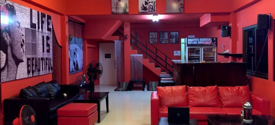 Red Boutique Hostel, Ko Phangan, Thailand