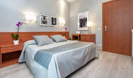 Hotels and hostels in Rome