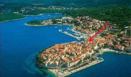 Search availability for the best hotels in Korcula