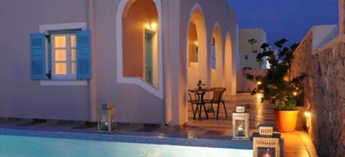 Villa Rose, Thira, Greece
